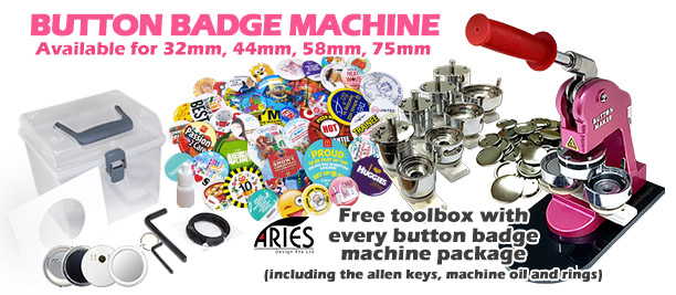 Button Badge Machine Front
