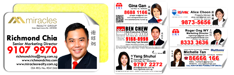 Mirrorkote Stickers For Property Agents