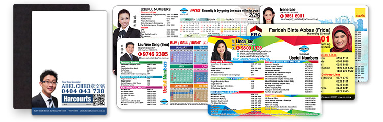 Useful Numbers Fridge Magnets For Property Agents