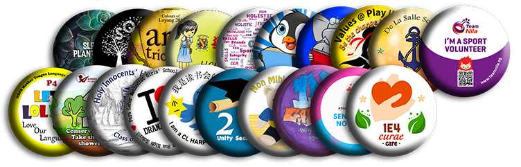 Button Badges For Schools