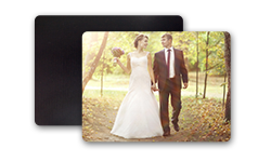 Wedding Rectangle Fridge Magnet